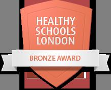 Healthy Schools London bronze logo